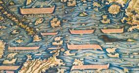 The Fra Mauro Map Facsimile and the Explorers of the Seas