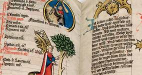 Upcoming Facsimile: A Medieval Calendar and Its Life Advice