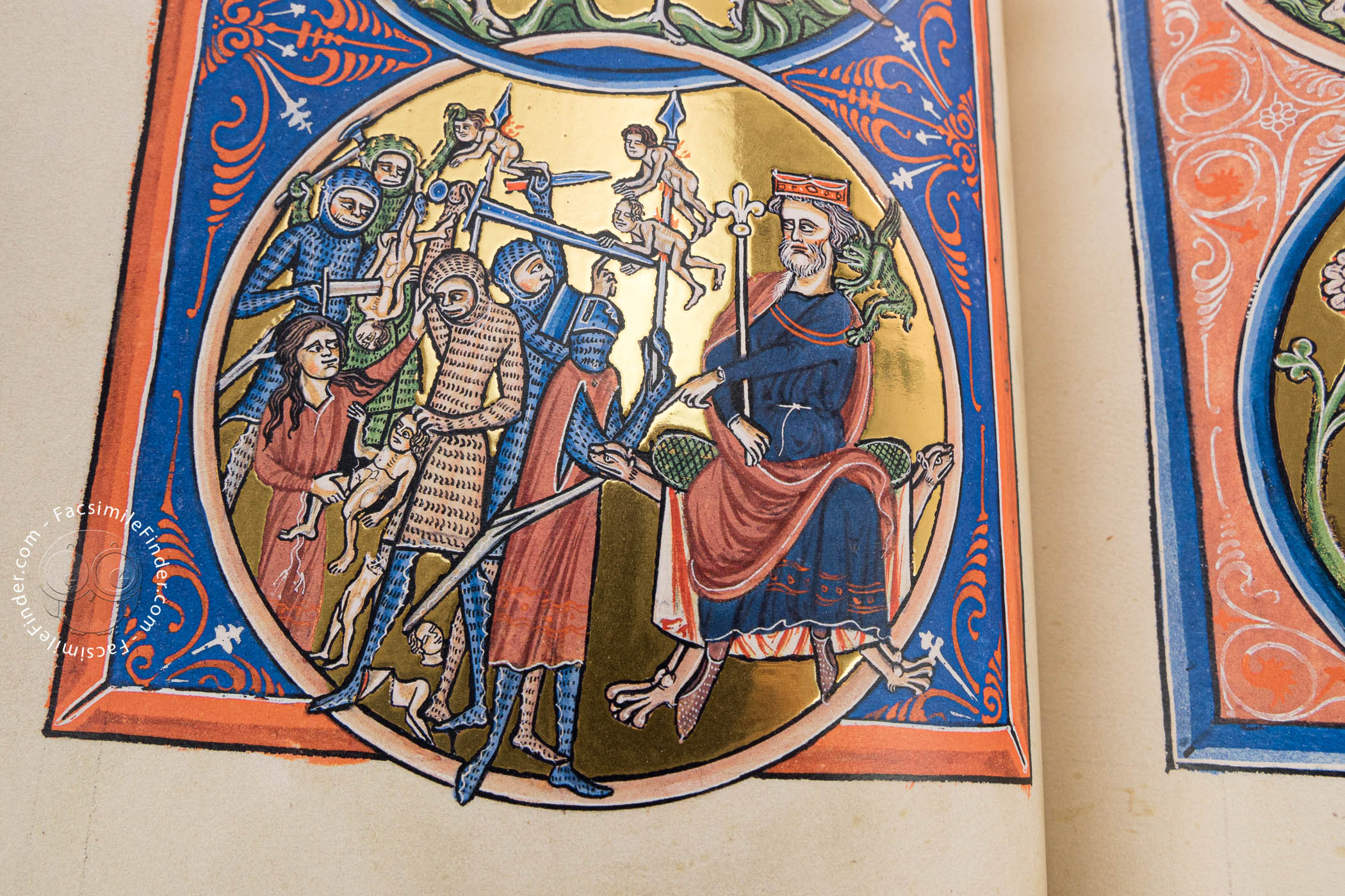 Psalter Of Blanche Of Castile Facsimile Edition # Bibliotheque Mural