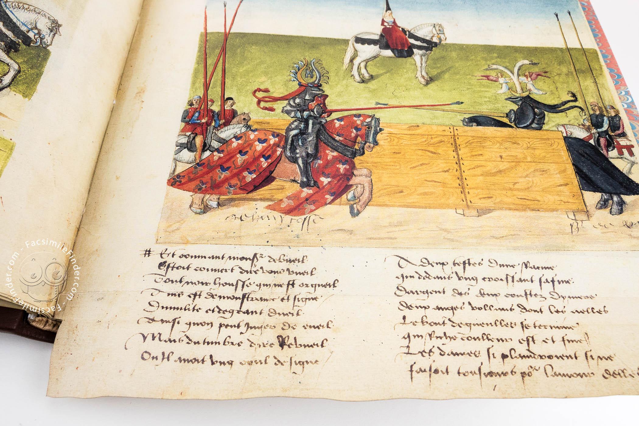Tournament Book of René d'Anjou Facsimile Edition