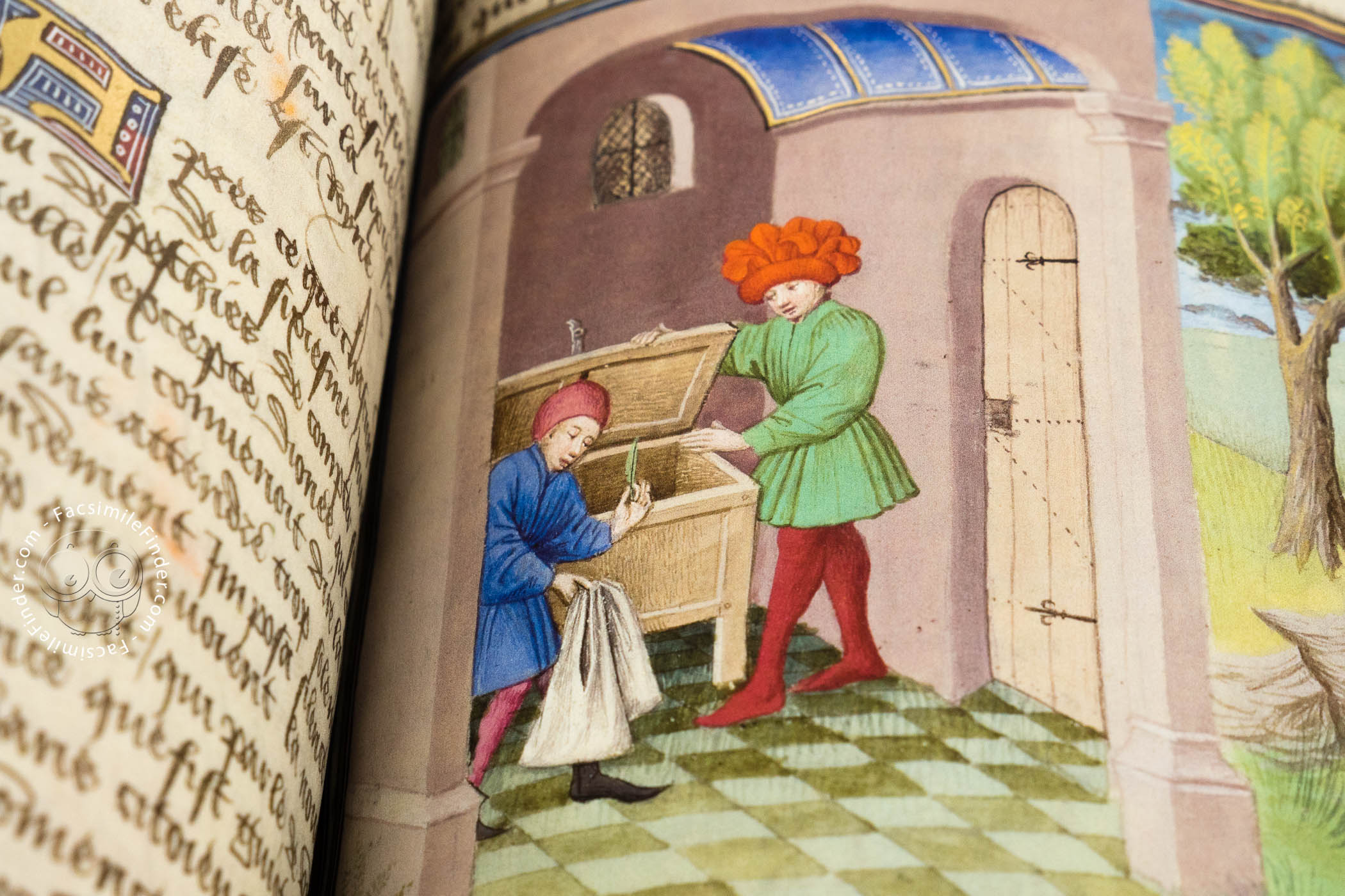the decameron Giovanni boccaccio's decameron (ten days) is one of the most influential   and has provided material and inspiration for writers from chaucer,  he did so  because, when he was writing, vernacular narrative prose was not.