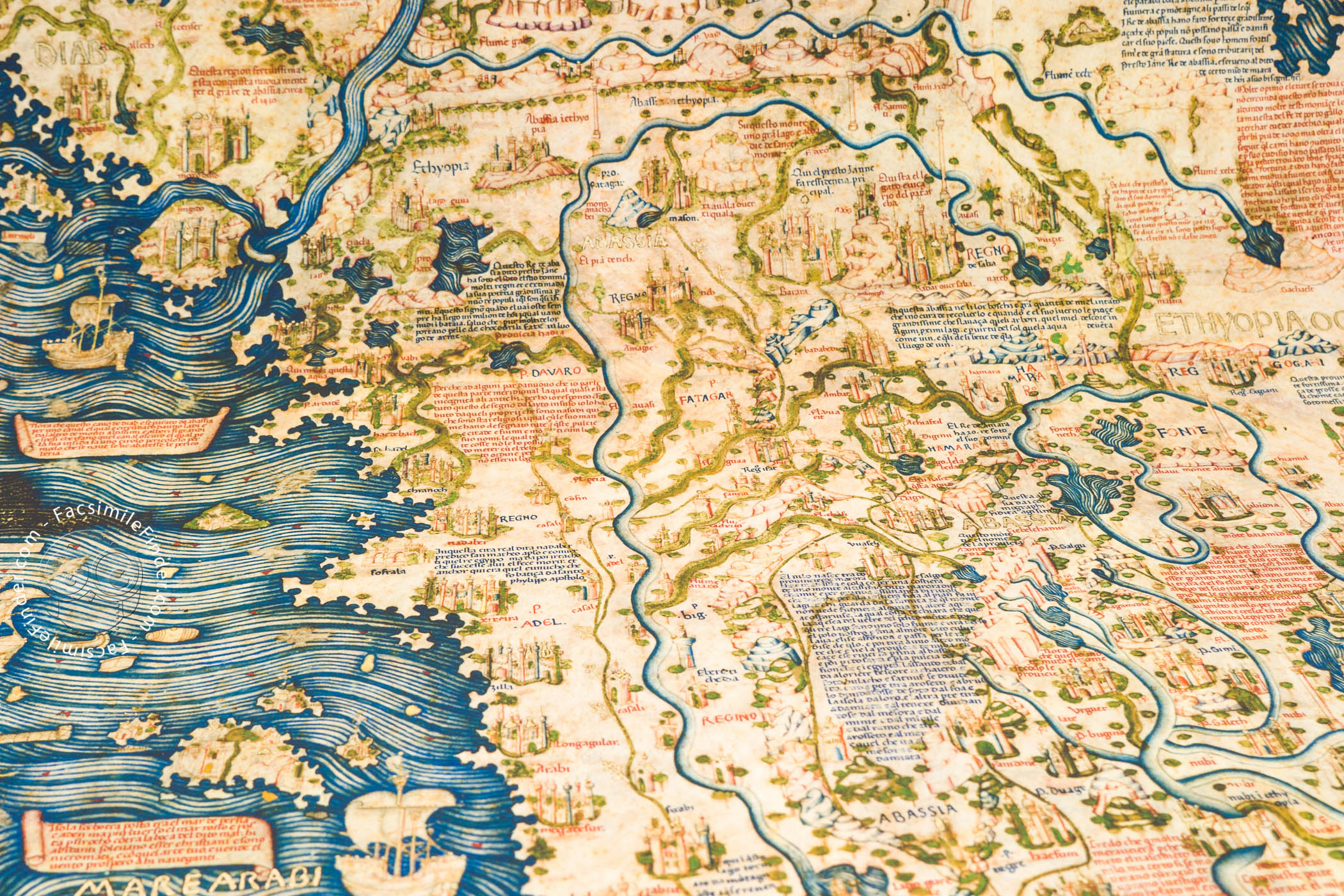Fra mauro map facsimile edition x gumiabroncs Gallery