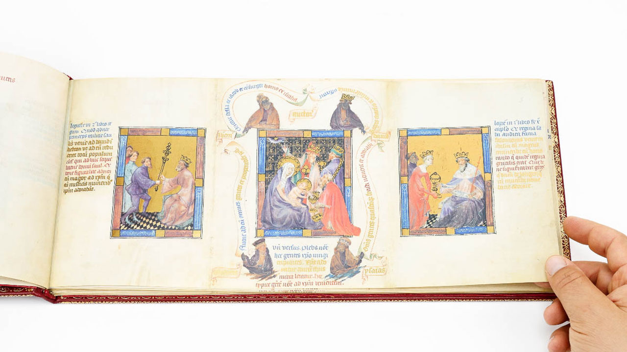 Golden Bible - Biblia Pauperum